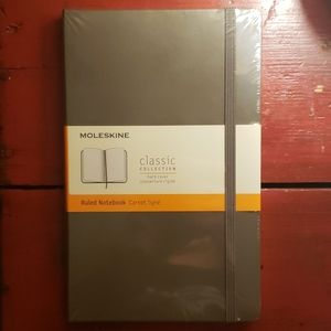 Moleskine Ruled Notebook (Taupe color)